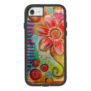 Creative Flower Doodle Case-Mate Tough Extreme iPhone 8/7 Case