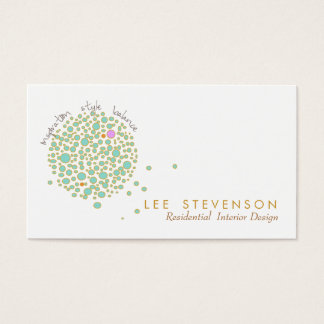 Creative Interior Designer Business Card