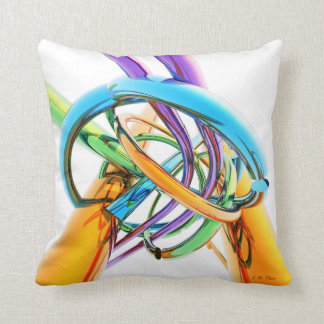 Creative Metal Twist Cushion