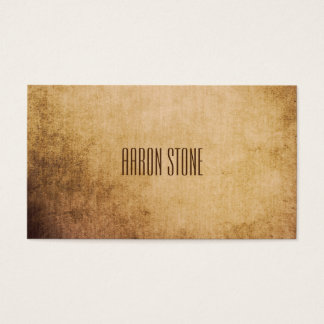 Creative Minimalist Grunge/Texture Business Card