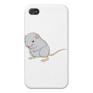 Creative Smiling Gerbil Cases For iPhone 4