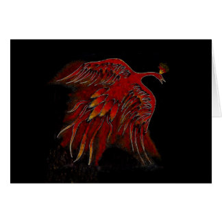 Creature of Fire Blank Greeting Card-horizontal Greeting Card