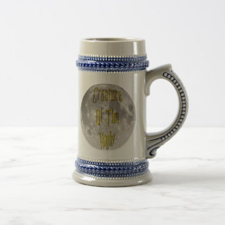 Creature of the Night Beer Steins