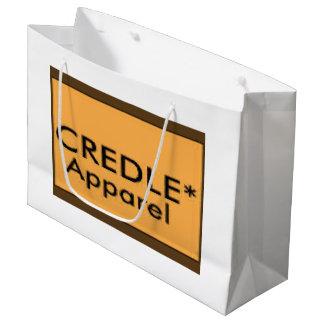 Credle Large Glossy Gift Bag