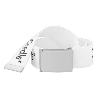 Credle White Belt