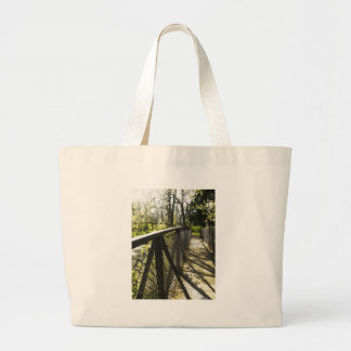 Creek Crossing Large Tote Bag