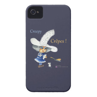 Creepy Crepes Wicked Witches iPhone 4 Cover