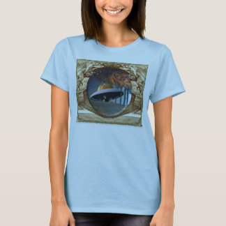 Creepy Hallow Vignette T-Shirt