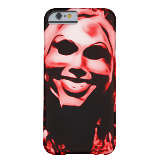 Creepy Masked Serial Killer Barely There iPhone 6 Case