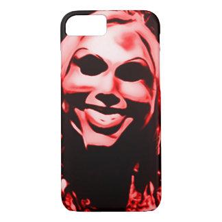 Creepy Masked Serial Killer iPhone 7 Case