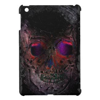 Creepy Skull, Grunge, Goth, Halloween iPad Mini Cover