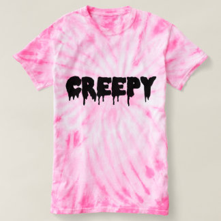 Creepy Tie Dye Top