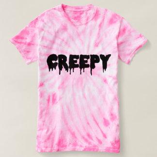 Creepy Tie Dye Top T Shirts