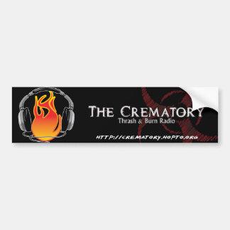 Crematory Bumper Sticker