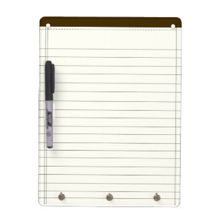 Creme Colored Notes Dry-Erase Whiteboards