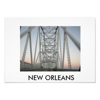 Crescent City Connection (New Orleans Collection) Photo Print