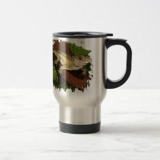 Crested Gecko Stainless Steel Travel Mug