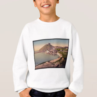 Criccieth Castle Wales Vintage Photo Sweatshirt