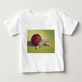 Cricket Ball and Bails Baby T-Shirt