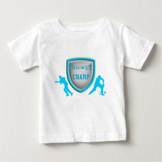 cricket champ_aqua.png baby T-Shirt