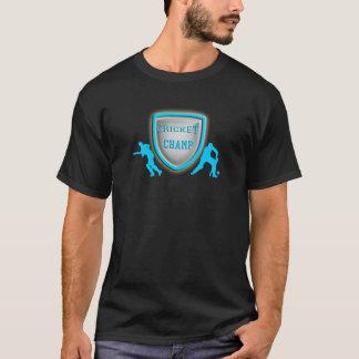 cricket champ_aqua.png T-Shirt