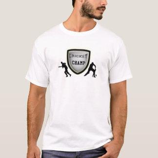 cricket champ_black.png T-Shirt