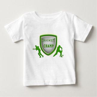 cricket champ_green.png baby T-Shirt