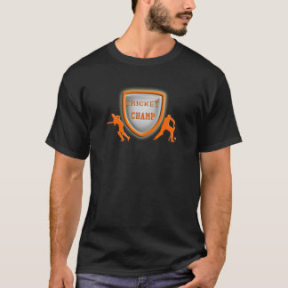 cricket champ_orange.png T-Shirt
