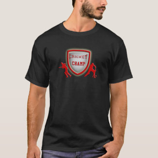 cricket champ_red.png T-Shirt