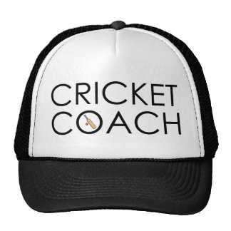 Cricket Coach Cap
