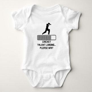 Cricket Talent Loading Baby Bodysuit