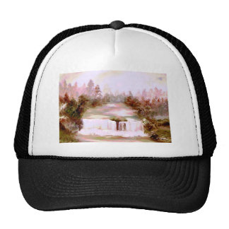 Cricket Waterfalls Romantic Waterfall Landscapes Cap
