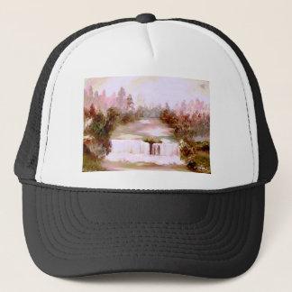 Cricket Waterfalls Romantic Waterfall Landscapes Trucker Hat
