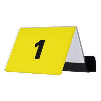 Crime Scene Evidence Marker Desk Business Card Holder