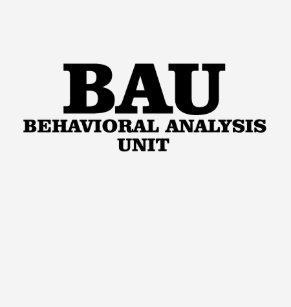c1caa613ae39 Criminal Minds BAU Behavioural Analysis Unit T-Shirt