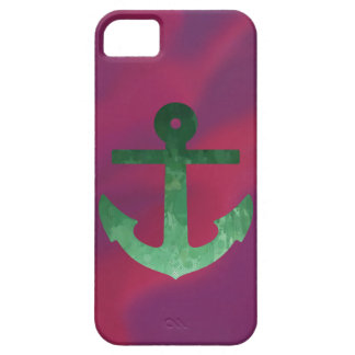 Crimson Anchor Greens Case For The iPhone 5