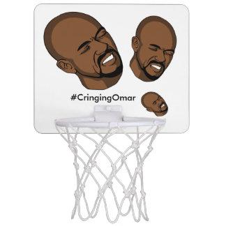 Cringing Omar Basketball Hoop