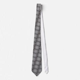 Crinkled Foil Kaleidoscope Neck-Tie Tie