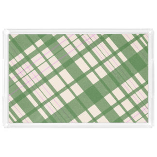Criss Cross Acrylic Tray
