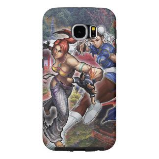 Cristie and Chun-Li Samsung Galaxy S6 Cases