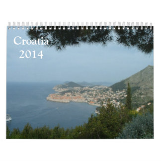 Croatia 2014 calendar
