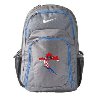 Croatia Flag/Map Backpack