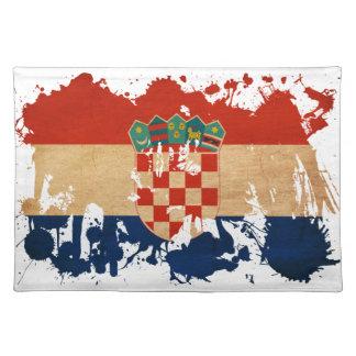 Croatia Flag Placemat