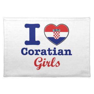Croatians design placemat