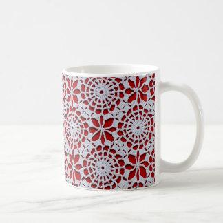 Crochet Design Coffee Mug