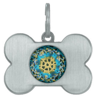 Crocheted Pet Tag