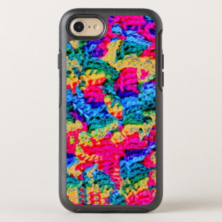 Crocheted Style w/Psychodelic Colors Otterbox OtterBox Symmetry iPhone 7 Case