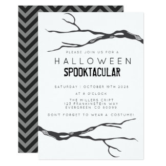 Crooked Branch Halloweed Spooktacular Card