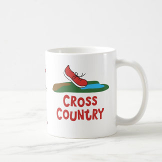 Cross Country Running Cup XC Runner Themed