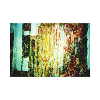 CROSS graffiti! Stretched Canvas Prints